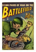 "Golden Age (1938-1955):War, Battlefield #4 Davis Crippen (""D"" Copy) pedigree (Atlas, 1952)Condition: VF...."