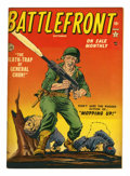"Golden Age (1938-1955):War, Battlefront #4 Davis Crippen (""D"" Copy) pedigree (Atlas, 1952)Condition: VF-...."