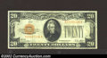 Small Size:Gold Certificates, 1928 $20 Gold Certificate, Fr-2402, VF+. A problem-free ...