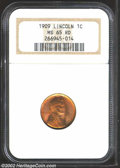 Lincoln Cents: , 1909 1C MS65 Red NGC. The current Coin Dealer Newsletter (...