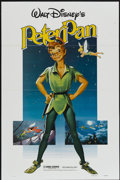 "Movie Posters:Animated, Peter Pan (Buena Vista, R-1982). One Sheet (27"" X 41""). Animated...."