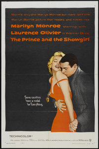 "The Prince and the Showgirl (Warner Brothers, 1957). One Sheet (27"" X 41""). Romance"