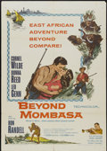 "Movie Posters:Adventure, Beyond Mombasa (Columbia, 1957). One Sheet (27"" X 41"").Adventure...."