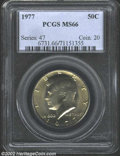 Kennedy Half Dollars: , 1977 50C MS66 PCGS. ...