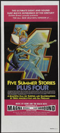 "Movie Posters:Documentary, Five Summer Stories (Associated Screen Arts, 1972). Australian Daybill (13.5"" X 30""). Documentary...."