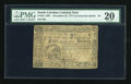 Colonial Notes:South Carolina, South Carolina December 23, 1777 (erroneously dated) $4 FullySigned PMG Very Fine 20....