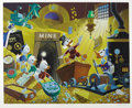 "Original Comic Art:Miscellaneous, Carl Barks- Uncle Scrooge ""Rich Finds at Inventory Time"" LimitedEdition Print #93/500 (Disney Art Editions, 1994)...."