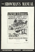 Movie Posters:Science Fiction, Revenge of the Creature (Universal International, 1955). Pressbook(Multiple Pages). Science Fiction....
