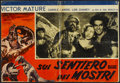 "Movie Posters:Adventure, One Million B.C. (United Artists, R-1940s). Italian Photobusta (18""X 26""). Adventure...."