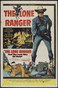 """Movie Posters:Western, The Lone Ranger and the Lost City of Gold (United Artists, 1958). One Sheet (27"""" X 41""""). Western...."""