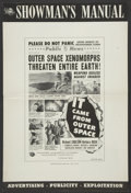 """Movie Posters:Science Fiction, It Came From Outer Space (Universal, 1953). Pressbook (12"""" X 18"""").Science Fiction...."""