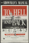 """Movie Posters:War, To Hell and Back (Universal, 1955). Pressbook (12"""" X 18""""). War...."""