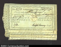 Colonial Notes:Connecticut, A group of five Connecticut payment certificates, Anderson CT-...