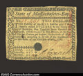 Colonial Notes:Massachusetts, May 5, 1780, $2, Massachusetts, MA-279, Fine. Stamped and ...