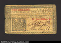 Colonial Notes:New Jersey, March 25, 1776, 1s Plate B, New Jersey, NJ-175, VF. This is ...