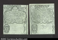 Colonial Notes:Rhode Island, August 22, 1738, 2s/6d and 7s/6d, Rhode Island, RI-30, CU. ...