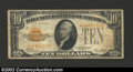 Small Size:Gold Certificates, 1928 $10 Gold Certificate, Fr-2400*, VG-Fine. Scarce. That ...