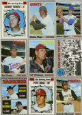 Baseball Cards:Sets, 1970 Topps Baseball Partial Set.1970 Topps - partial set of 484/720 cards (Missing 236 cards including #'s 1 Mets, 140 Jacks...