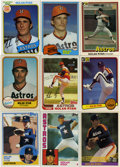 Baseball Collectibles:Others, HUGE 1980's Nolan Ryan Collection (552).This lot consists of 552 Nolan Ryan cards. Book value is well over $2,000.00. Detail...