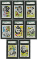 Football Cards:Boxes & Cases, 1961 Nu-Card High Grade Football Set (80). Offered is a high grade1961 Nu-Card Football complete set of 80 cards. The set f...