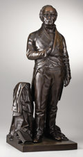 Political:Miscellaneous Political, Daniel Webster: Massive 1853-Dated Bronze Statue of the HighestQuality....