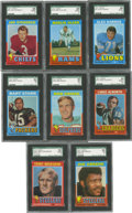 Football Cards:Sets, 1971 Topps Football Complete Set (263).Offered is a complete set of1971 Topps Football that includes rookie cards of Terry ...