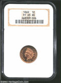 Proof Indian Cents: , 1869 1C PR 65 Red NGC. The current Coin Dealer Newsletter (...