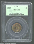 Proof Indian Cents: , 1907 1C PR 65 Red PCGS. The current Coin Dealer Newsletter (...