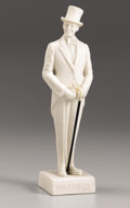 Decorative Arts, Continental:Other , Biscuit Figure of Edward, Prince of Wales . Circa 1922.After Bryant Baker, the smiling full-length figure wearing tai...