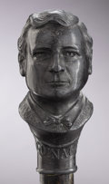 Political:3D & Other Display (1896-present), William Jennings Bryan: Figural Head Cane...