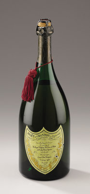Magnum of Vintage 1961 Champagne Cuvée Dom Perignon for the Wedding of Charles, Prince of Wales and Lady Diana Sp...