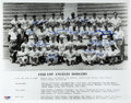 Autographs:Photos, 1958 Los Angeles Dodgers Team Signed Photograph. Brilliantcollection of 19 signatures appear on this 1958 team photograph ...
