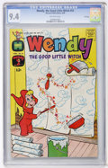Silver Age (1956-1969):Humor, Wendy, the Good Little Witch #53 File Copy (Harvey, 1969) CGC NM 9.4 Off-white pages....
