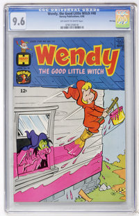 Wendy, the Good Little Witch #48 File Copy (Harvey, 1968) CGC NM+ 9.6 Off-white to white pages