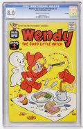 Silver Age (1956-1969):Cartoon Character, Wendy, the Good Little Witch #2 File Copy (Harvey, 1960) CGC VF 8.0 Cream to off-white pages....
