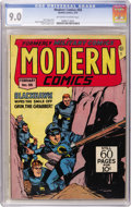 Golden Age (1938-1955):War, Modern Comics #58 (Quality, 1947) CGC VF/NM 9.0 Off-white to whitepages....