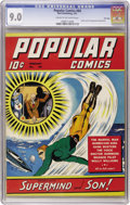 Golden Age (1938-1955):Miscellaneous, Popular Comics #60 File Copy (Dell, 1941) CGC VF/NM 9.0 Cream to off-white pages....