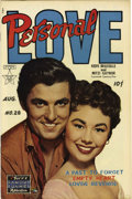 Golden Age (1938-1955):Romance, Personal Love #28 File Copy (Famous Funnies, 1954) Condition:VF+....