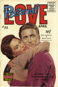 Golden Age (1938-1955):Romance, Personal Love #32 File Copy (Famous Funnies, 1955) Condition:VF/NM....
