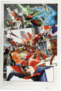 Original Comic Art:Panel Pages, Alex Ross - Kingdom Come #2, page 31 Original Art (DC, 1996). ...
