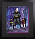 "animation art:Limited Edition Cel, ""Gotham Nights"" Limited Edition Cel #86/250 Original Art (Warner Bros., 2000)...."