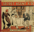Platinum Age (1897-1937):Miscellaneous, Secret Agent X-9 Book 1 and 2 Group (David McKay, 1934) Condition:Average VG....