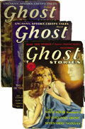 Pulps:Horror, Ghost Stories Group (Macfadden, 1928-31) Condition: Average GD+....(Total: 5)