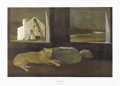 Prints:American, ANDREW WYETH (American b.1917). Night Sleeper, 1979.Collotype, reproduced 1980. Edition 187/300. 20 x 30 inches, image...