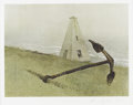 Prints:American, ANDREW WYETH (American b.1917). Sea Running, 1978.Collotype, reproduced 1981. Edition 101/300. Printed by TritonPress...