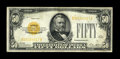 Small Size:Gold Certificates, Fr. 2404 $50 1928 Gold Certificate. Very Fine.. A couple of stray marks on the back affect nothing on this bright representa...