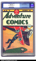 Golden Age (1938-1955):Adventure, Adventure Comics #33 Mile High pedigree (DC, 1938) CGC NM- 9.2 Off-white to white pages. There is no doubt that Creig Flesse...