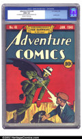 Golden Age (1938-1955):Superhero, Adventure Comics #46 (DC, 1940) CGC GD/VG 3.0 Off-white to white pages. The ultimate Sandman cover of the run. A combination...