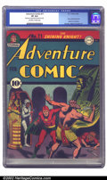 Golden Age (1938-1955):Superhero, Adventure Comics #71 (DC, 1942) CGC VF 8.0 Off-white to white pages. Burnley's second-to-last cover of the run has Starman d...