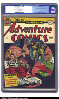 Golden Age (1938-1955):Superhero, Adventure Comics #85 Mile High pedigree (DC, 1943) CGC NM- 9.2 White pages. One of Simon and Kirby's strengths in illustrati...